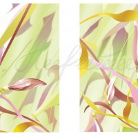 Серия интерьерных графических листов «Линия модерна» Компьютерная графика 40х30, 40х30 2008 год