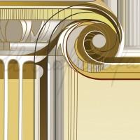 Имиджевый графический лист «Кафедра теории и истории искусств» из серии «Институт искусств» Комп. графика 70х50 2010 год