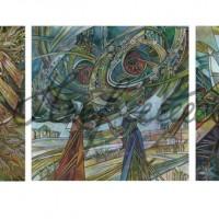 Триптих «Славянский календарь» 2013 год