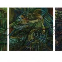 Триптих «Сварожий круг» 2013 год