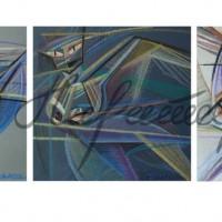 Триптих «Три грации» 2010 год