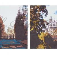 Диптих «Прогулки по Парижу» 2010 год