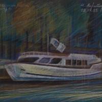 Порт Генри IV Тон. бум., с. пастель 30х40 19.07.15 год