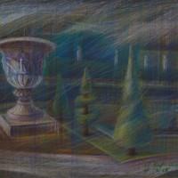 Версаль Тон. бум., с. пастель 40х50 16.07.15 год