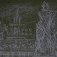 Версаль Тон. бум., серый карандаш 40х50 29.07.15 г.